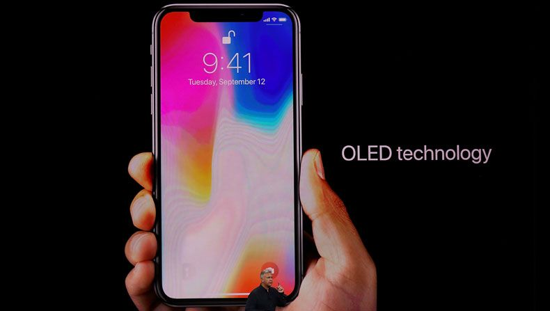 Oled de iPhone X