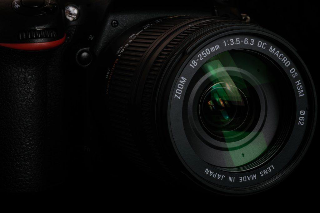 Lente de cámara digital