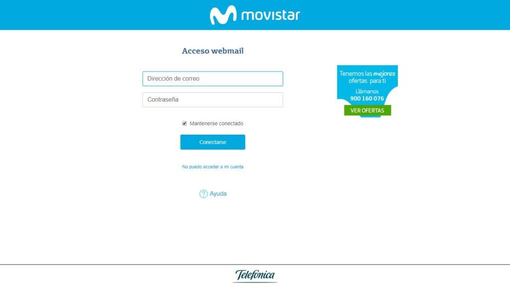 Correo Movistar login