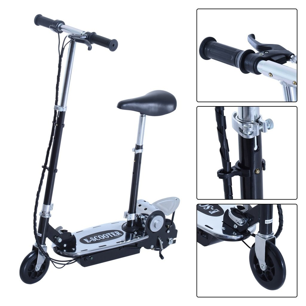 HomCom Patinete plegable