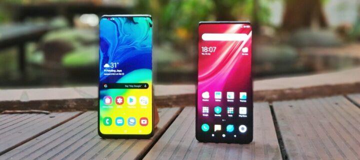 Comparativa Galaxy A80 vs Xiaomi Mi 9T