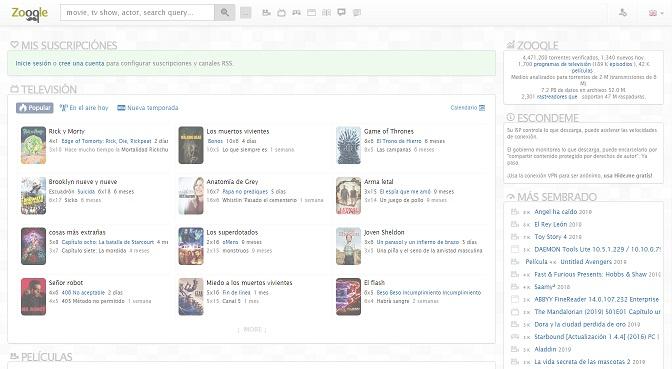 Zooqle es una de las webs más recomendadas para descargar torrents de películas