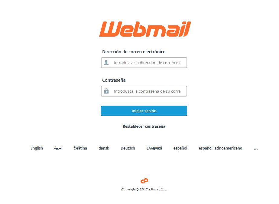 Beneficios de webmail