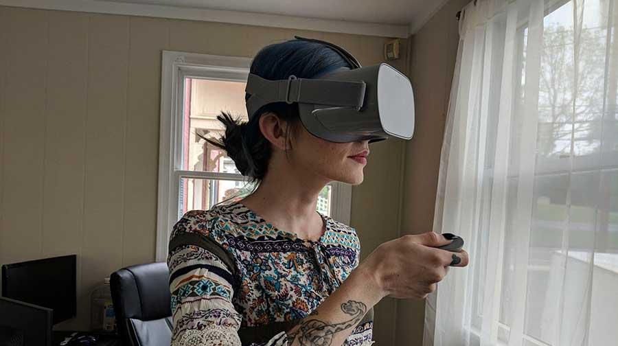 Probando las Gafas VR Oculus Go
