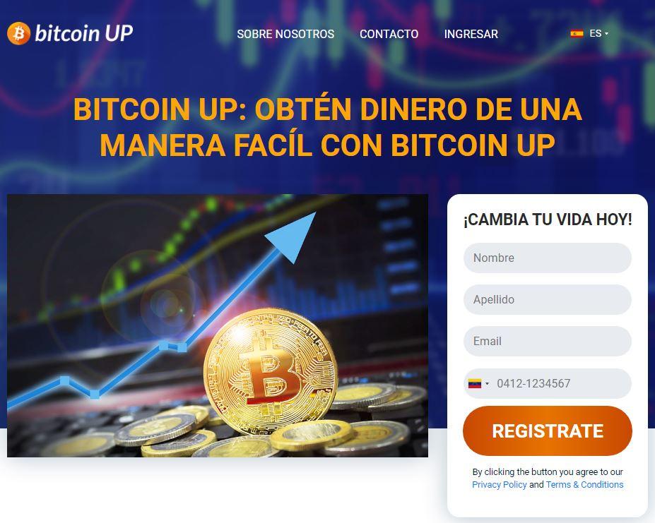 Cómo crear una cuenta en Bitcoin UP