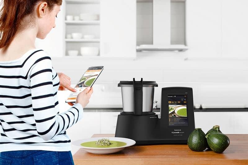 conectividad en la cocina