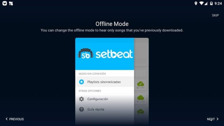 Setbeat android